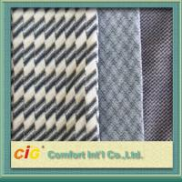 Buy cheap Bus / Car Interior Decoration Striped Auto Upholstery Fabric / Contemporary Upholstery Fabric product
