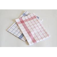 Buy cheap 2 Colors Kitchen Tea Towels / Grid Kitchen Towel With 100% Cotton Fabric product