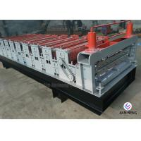 Buy cheap Color Metal Profile Roofing Sheet Metal Roofing Machine With 3 Groups Rollers product