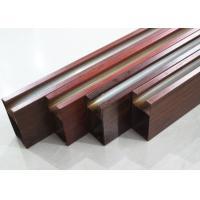 Linear Aluminium Metal Drop Ceiling Tiles Metallic 0.8mm , Heat transfer coating