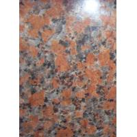 Buy cheap G562 Maple Red Polished Kitchen Floor Tiles , Large Polished Floor Tiles product