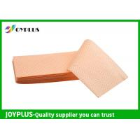 Buy cheap Yellow Green Color Non Woven Cloth , Window Cleaning Cloths Extra Absorbent product