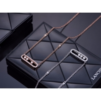 Buy cheap Customized White Gold Necklace Chain With Diamonds , White Gold Pendant Necklace product