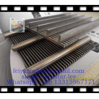 WEDGE WIRE PANEL / V WIRE FLAT PANEL / FLAT WEDGE WIRE PANEL / WIRE WRAPPED