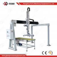Fully Automatic Flat Glass Handing Equipment Glass Loading Machine With Safety