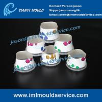 Buy cheap two cavites thinwall plastic injection food box mould,thin-walls bucket containers mould product