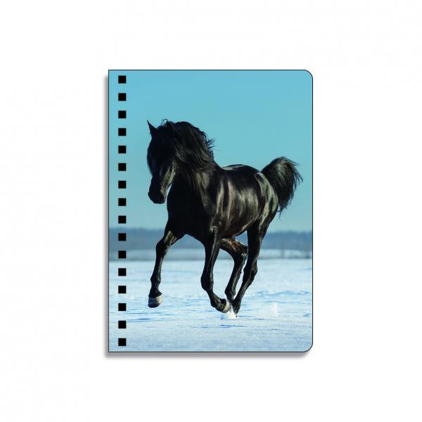 Quality Animal Design Notebook 3D Lenticular Printing Service Journals PET / PP / PVC Lentiuclar for sale