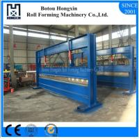 Buy cheap Colored Steel Hydraulic Plate Bending Machine , 4 Meter Sheet Bending Machine product