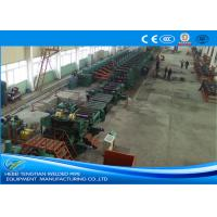 Buy cheap Low Carbon Steel ERW Pipe Mill Making Machine Rectangular Pipe Shape product