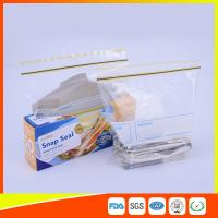 Buy cheap Airtight Transparent Ziplock Snack Bags For Food Packing Customized Size product