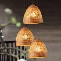 Buy cheap Wicker basket pendant lights Kitchen Dining room Sitting room Decor (WH-WP-18) product