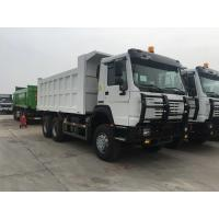 Buy cheap 40t SINOTRUK HOWO white heavy dump truck with 336hp euro ii emission standard all wheel drive product