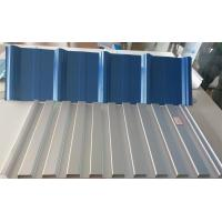 China SGCC Grade Prepainted PPGL  Steel Coil For Roofing / Panel 55% Al- ZN Base Material on sale