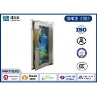 High Transparency Stainless Steel Fire Rated Doors For Airport High Hardness