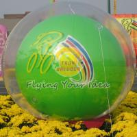 Buy cheap Reusable Versatile Digital Printing Green Inflatable Helium Ballon, Inflate Ground Balloon product