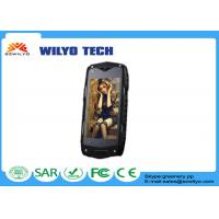 Buy cheap Gsm Z6W IP68 4 inch touch screen phones Android MTK6572 3G GPS AGPS Shockproof product