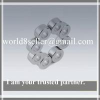Buy cheap Rare earth strong sintered ndfeb Ring disc high quality motor industrial magnet with count product