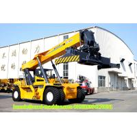 Buy cheap 4 Wheel Truck Mounted Crane / XCMG 45 ton Port Reach Stackers Container from wholesalers