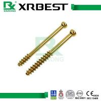 China Locking Plate System Cannulated Bone Screws With Stainless Steel / Titanium Alloy Material wholesale