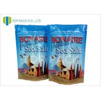 Buy cheap Heat Seal Sealing Plastic Stand Up Pouches Zipper Closure Recyclable product
