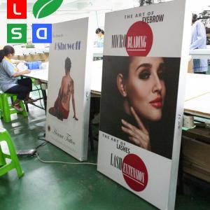 China LED Fabric Light Box 80mm Depth Custom Picture Frame Light Box on sale