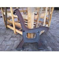 China Antique Powder Coated Cast Iron Bench Ends And Steel Garden Bench Seat on sale