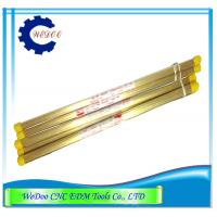 Buy cheap EDM Electrode Brass Tube  EDM Drilling Parts EDM Brass Pipe 0.8x400mmL product
