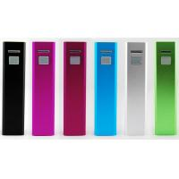 Buy cheap 5200mAh Lipstick Portable USB Power Bank With Lithium Battery product