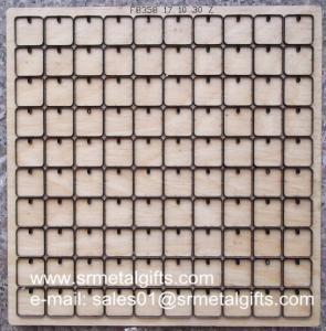 Buy cheap 0.3mm PVC film steel rule die cutter making, precise thin PVC film steel knife cutter product