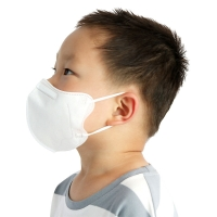 Buy cheap 99.9% BFE Disposable Children Kn95 Kids Face Masks 5 Layers product
