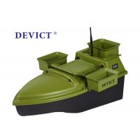 Buy cheap Lithium batter RC Fishing Bait Boat DEVC-204 green ABS Engineering RC model from wholesalers