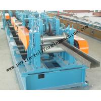 Buy cheap Automatic C / Z Purlin Roll Forming Machine Interchangeable For Steel Frame product