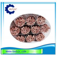 Buy cheap 1.8mm Multi Hole EDM Electrode Copper Pipe Copper Tube For EDM Drilling Machine product
