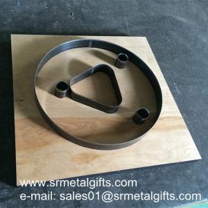 China Laminated wood high blade steel cutting dies, high razor blade wooden steel rule dies wholesale