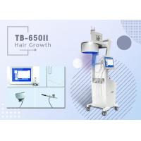 China No pain Three Wavelengths Diode Laser Hair Loss Treatment 8 Inch Multi Color Touch Screen wholesale