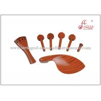 Buy cheap 4/4 Rosewood Middle Grade String Instrument Accessories For Violin ISO9001 / CQM product