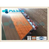Buy cheap Wood Veneer Honeycomb Panels , Lightweight Sandwich Panels Alkali Resistance product