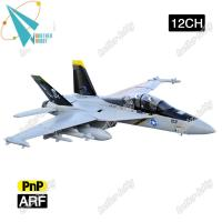 Quality F-18 Jolly Roger 12CH Electric EPO Material RC Airplane EDF jet for sale