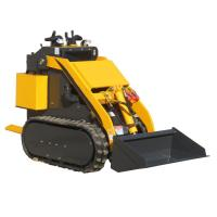 Buy cheap China WY280 0.8ton mini rubber track  crawler skid steer loader product