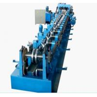 Buy cheap Galvanized Steel CZ Purlin Cold Roll Forming Machine High Speed 0 - 12m/Min product