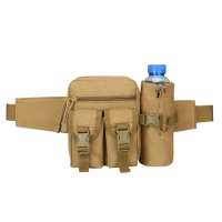 Buy cheap Travel Water Bottle Military Fanny Pack Tactical Military Running Belt Waist Bag product