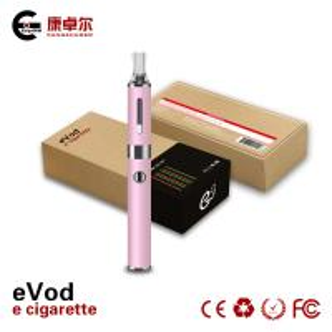 Red 1.6ml EGO E Cig Metal Tube Dual Coil Clearomizer 650mAh CE