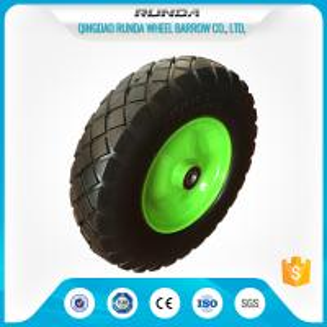 Buy cheap Heavy Duty Trolley Pneumatic Wheels Ubber Casing Ball Bearing 150-300kg Loading product