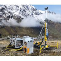 Buy cheap 513 KG Small Portable Engineering Geological Exploration Drill Rig Machine 200 meters depth product