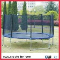 Quality large spring jumping trampolines for sale