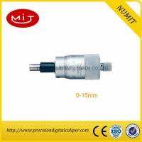 Buy cheap Non Rotating Spindle Digital Outside Micrometer Precision 0-15mm Scribed Line/Millimeters to micrometers product