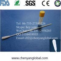 Buy cheap Ethylene Oxide Sterile Genetic Sample Collection Flocked Nylon Swabs Supplier product