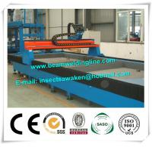 Cortadora de llama de la tabla del corte del plasma del CNC de la hoja de metal modificada para requisitos particulares