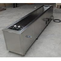 Buy cheap Tank Rotating System Industrial Ultrasonic Cleaning Machine 1200X300X200 Anilox Cylinder Cleaner product