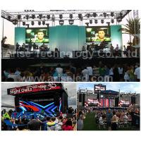 Buy cheap P5mm Die-Casting Aluminum Alloy Rental LED Display with 640mmx640mm LED Screen Size Less W product